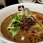 餃子と担々麺 吟 - 特製 黒胡麻坦々麺