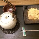 35479349 - わらび餅セット