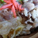 お食事 松月 - 牛丼¥1100
