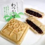 美土里屋 - 手焼もなか、わづかの里 (1個150円+税)。全国菓子大博覧会で名誉金賞受賞(2015.2月)