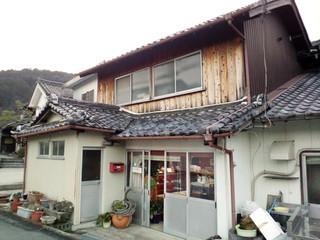 美土里屋 - 素朴な店舗外観。右隣に工場があります(2015.2月)