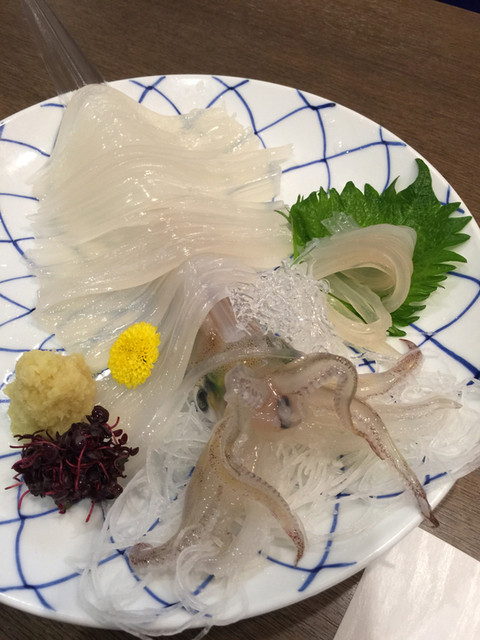 活魚料理 いか清 - 活いか刺