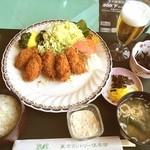 東京カントリー倶楽部レストラン - 料理写真:土砂降りの中のゴルフ…お昼はうまかった♫
