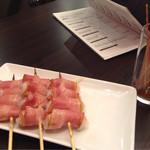 串鳥のワイン酒場 TANTO - 餅ベーコン
