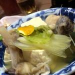 狭山 - アンコウとお豆腐の煮物☆
