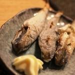 おでん 隆 - 氷下魚(一品料理メニューより)