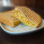 モンディアルカフェ328 - ホットエッグトースト
