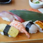魚河岸たちばな - 握り寿司定食