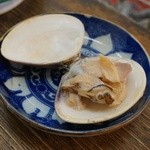 浅田水産 - 焼ハマグリ(白ハマグリ)。