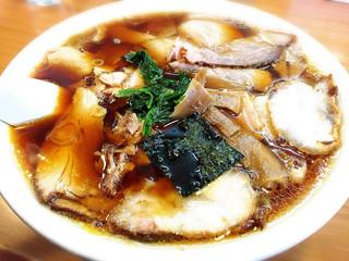 らーめんヒグマ 小千谷本店 - 醤油チャーシュー麺