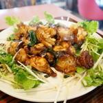 盛 - 特別定食・・蛸の炒め物