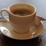 焼肉おがわ - サービスのコーヒー