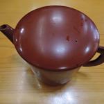 増田屋 - 蕎麦湯