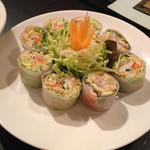 本格タイ料理 バンセーン - 生春巻き