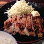 35492459 - 鶏の塩麹焼き定食