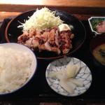 35492461 - 鶏の塩麹焼き定食