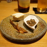酒庵 田なか - お通し・・日本酒のアテに良さそう。