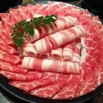 35493538 - 鹿児島黒豚肉(肩ロース・バラ肉)