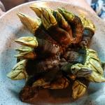 壱岐 - かめの手という名前の料理です。さてこれは何でしょう。