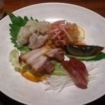Koubemotomachibetsukambotanen - コースの前菜