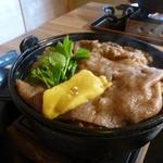 すきやきしゃぶしゃぶ 神戸牛石田 - かなりのボリュームお肉は130g