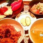 沙羅舎 心泉茶苑 - ランチの定食