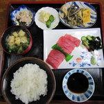 のむら食堂 - 料理写真:刺身定食1000円