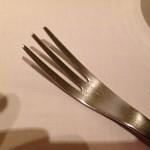 カーザ ヴィニタリア - パスタがとっても取りやすいフォーク
