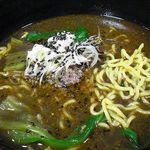 青森県庁生協・本庁食堂 - 黒ごまたんたん麺