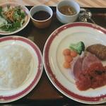 ホテルメルパルク東京・フォンテンド・芝 - 豚肩肉の煮込み&ビーフコロッケ