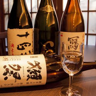 利き酒師厳選の希少日本酒ご用意!さらに日本酒100種飲放あり