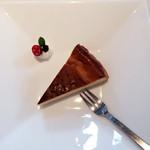あじと cafe日びの - ベイクドチーズケーキ