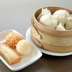 上海茶楼 - 料理写真:おまかせ点心セット