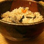 Sobadokorotogakushi - 炊き込みご飯