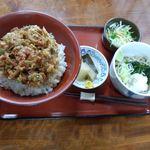 若森 - 小海老のかき揚げ丼定食