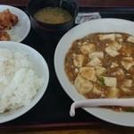 35512118 - 麻婆豆腐定食(816円→766円)