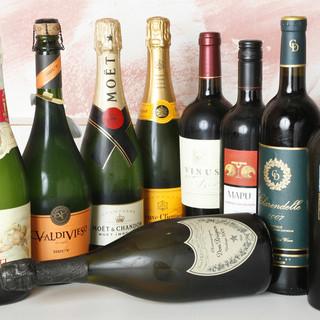 熟成和牛に合うワインを多数取り揃えております!!