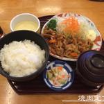 座楽 - 焼肉定食
