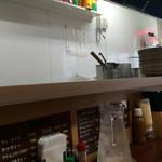 馬場南海 - 厨房