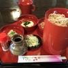 Nihonsobauetake - 料理写真:三味蕎麦 750円