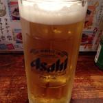 35517239 - 生ビールはスーパードライ