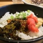 由丸 - ランチ焼き鯖ご飯(2015.02)