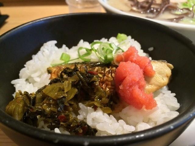 由丸 品川港南店 - ランチ焼き鯖ご飯(2015.02)