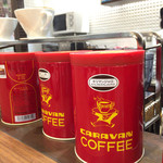 35524801 - コーヒー豆とカップ