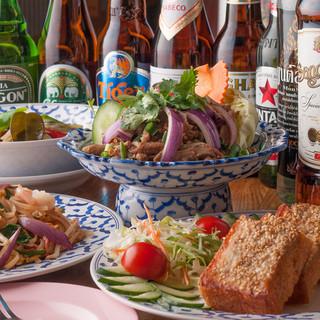 タイ料理にはアジアのお酒★
