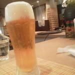 レストランテ チョウジ - 生ビールは アサヒ
