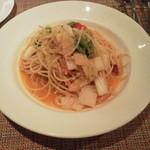 レストランテ チョウジ - 白菜のペペロンチーノ