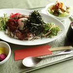 NICE - 2013年11月 淡路牛と淡路玉葱のキーマ丼 1200円