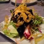 お食事くつろぎのお宿 あづまや - 海草サラダ