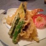 お食事くつろぎのお宿 あづまや - 天ぷら